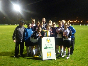 Leicester City Ladies Foxes County Cup Winners 2009/10