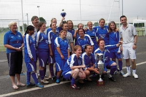 Leicester City Ladies Strasbourg 2010 Winners