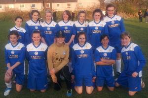 Leicester City Ladies Under 13s League Champions 2012-13