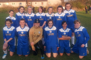 Leicester City Ladies Under 13s League Champions 2012-13