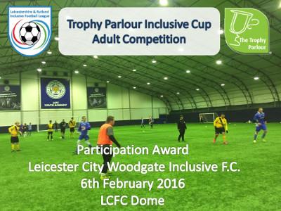 Inclusive League certificate